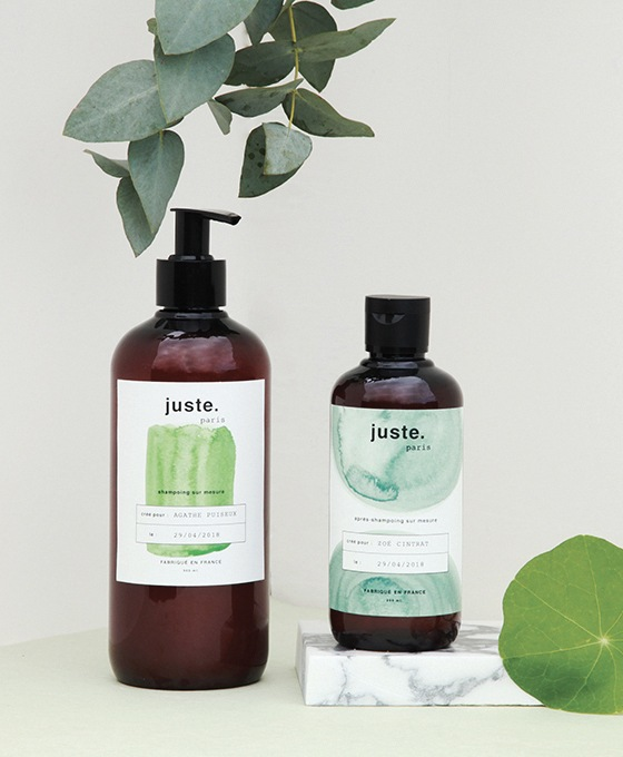 ensemble produits cosmétiques naturels