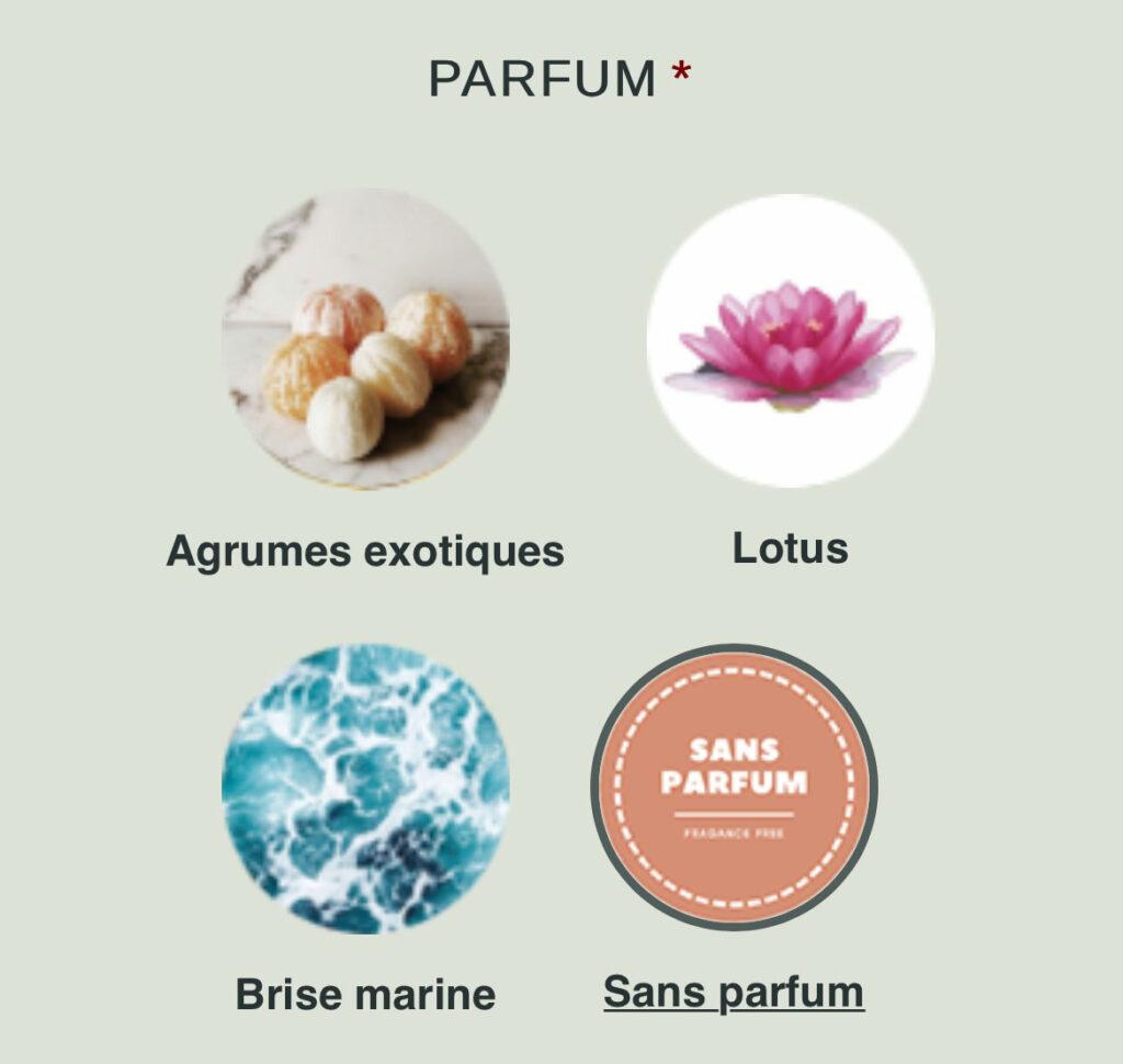 Sélection parfum irritation