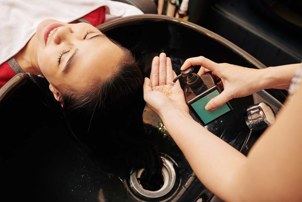 Shampoing professionnel cheveux gras