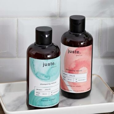 Shampoing sans sulfate naturel juste